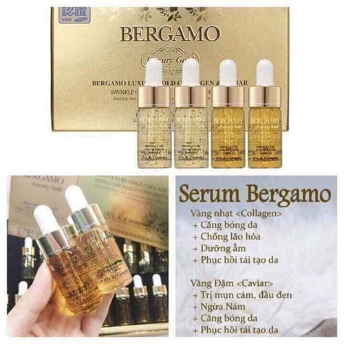 Serum Bergamo Luxury Gold Collagen