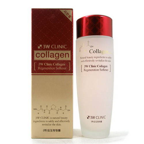 nuoc hoa hong 3w clinic collagen han quoc