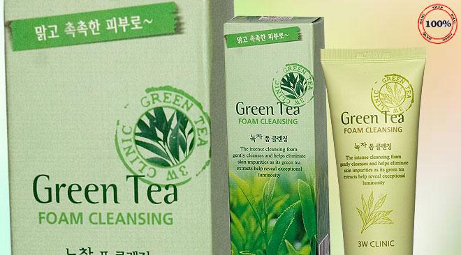 Kết quả hình ảnh cho sữa rữa mặt trà xanh