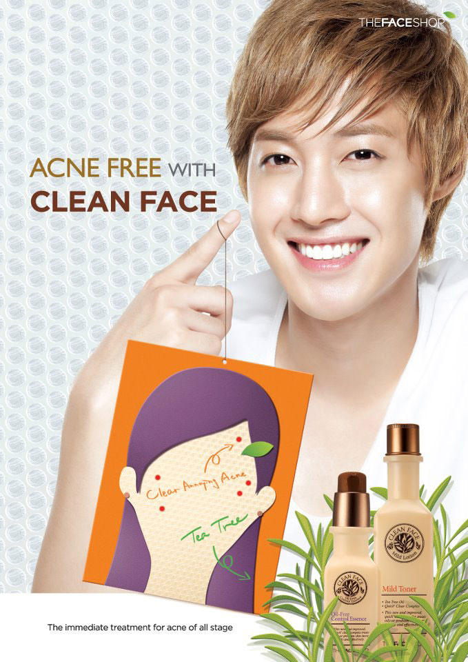 nuoc hoa hong tri mun the face shop chinh hang